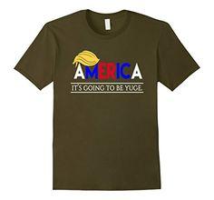 Men's Trump America T-Shirt - It's Going to be yuge 3XL O...