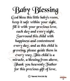 Like This Blessing For New Babies Babies Baby Birth Baby Boy