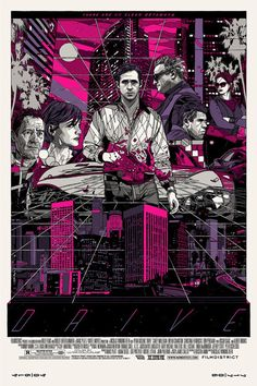Check Out The Awesome New Cover by Artist Tyler Stout for the Drive Soundtrack Vinyl Reissue | News | Pitchfork