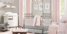 OBSESSED with this entire nursery!!