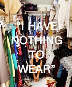 I can relate. Sometimes u have to get creative and create a new wardrobe with what u got.