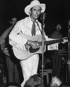Hank Williams, perhaps the best country songwriter of all time, and probably the most influential performer, died in 1953 at the age of 29.