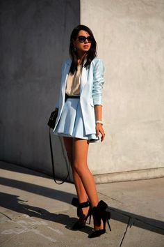 Gorgeous Skirt Work Outfits For Office Women (4)
