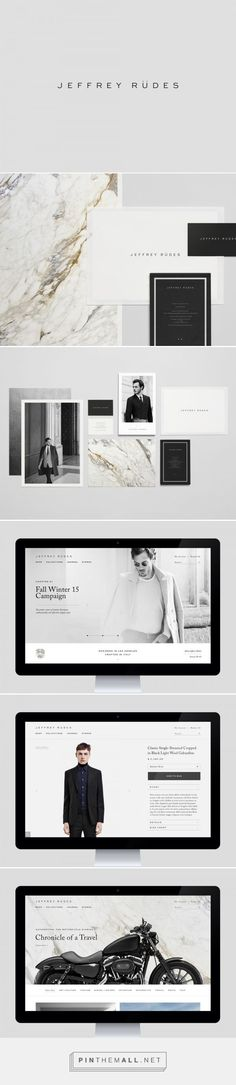 Jeffrey Rudes Branding by Object-Matter | Fivestar Branding – Design and Branding Agency & Inspiration Gallery