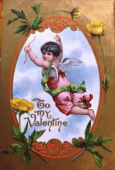 Antique Valentine greeting card.