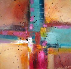 """Celebration by Filomena Booth Acrylic ~ 30"""" x 30"""""""