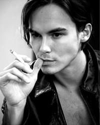 Tyler Blackburn from Pretty Little Liars. SO young and I don't even care.