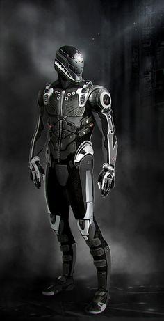 Suit concept by Bro-Bot - Eric Felten - CGHUB via PinCG.com