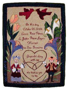 2006 Emma & Justin's Wedding Rug