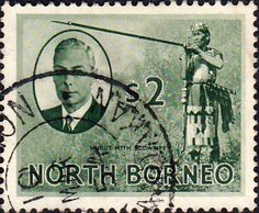 North Borneo 1950 SG 365 King George VI Fine Used Scott 253 Other Malayan Stamps HERE