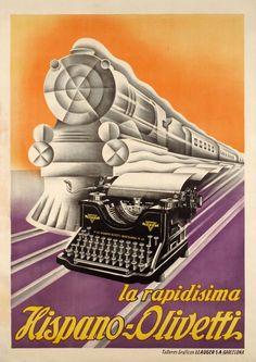 La rapidissima Hispano-Olivetti   A. Bresciani, 1923