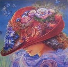 I want this hanging on my Bedroom wall. Shades Of Purple, Red Purple, Red And Pink, Jenny Joseph, Red Hat Ladies, Red Hat Society, Love Hat, Pink Hat, Paint Shop
