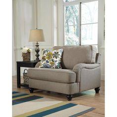 Hariston Chair and a Half in Shitake | Nebraska Furniture Mart $319.99