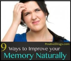 9 Ways to Improve your Memory Naturally #natural #memory