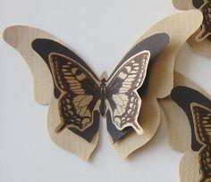 papillon papier kraft