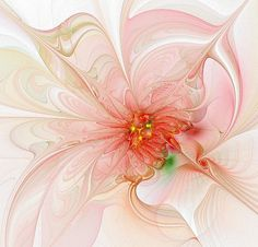 I would be Tickled Pink if I ever received a card this beautiful. I love fractals!!