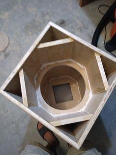 Speaker Plans, Speaker System, Custom Car Audio, Custom Cars, Speaker Box Design, Subwoofer Speaker, How To Make Box, House Design, Box Design