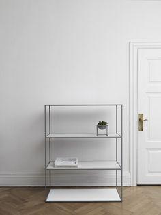 @bylassen  Twin #Bookcase #white