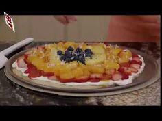 Homemade healthy Fruit Pizza Recipe for Kids |  Healthy Breakfast Idea easy to bake