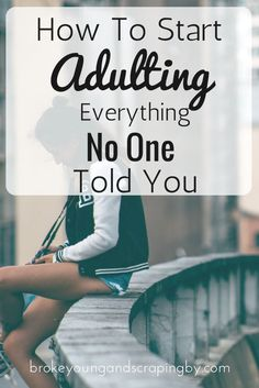 Just starting out in the adult world can be hard. One minute you're wasting money on needless things, and the next you're an adult with bills to pay.