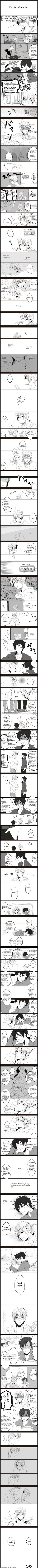Headcanon: When America is too nervous (embarrassed) to go to England's room, he goes to Spain's, because he feels like the two are really similar. Romano does the same, except with England. Neither of the older guys can refuse them because it's too nostalgic.