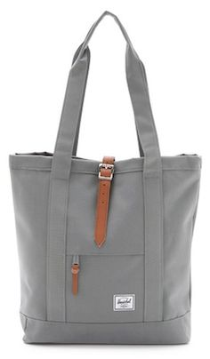 Canvas style tote bag