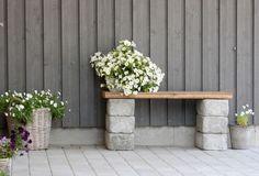 Gartenbank aus Schaltsteinen selber bauen
