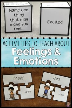 Feelings And Emotions Activities Bundle (Save Coping Skills Activities, Emotions Activities, Counseling Activities, Autism Activities, Elementary School Counseling, School Social Work, Expressing Feelings, Feelings And Emotions, Social Emotional Development