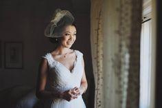 Pretty birdcage veil | Eyekahfoto