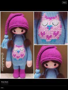Amigurumi doll No pattern, cute though