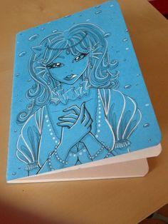 UNIKAT Skizzenheft Einzelstück von Angelia Arts  auf DaWanda.com