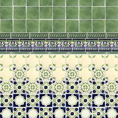 Green Rocio Talavera Mexican Tile