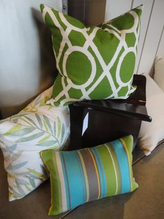 Pillows. Color, Pattern, Texture. Pillows By Dezign.