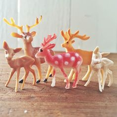 Our family has grown. Visit our shop for details. The Woodland Deer The Dapper Deer The Feeble Fawn The White Fawn and The Spotted Fairyland Deer. Ta-dah!