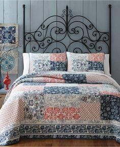 Jessica Simpson Jodie King Quilt #bedding #quilts #afflnk