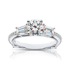 Lucille Diamond Engagement Ring | Forevermark