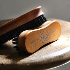 Introducing our limited edition handmade wooden beard brush!!! An iconic grooming accessory and the perfect gift for beard lovers -Brush features our signature octopus logo -Natural boar bristles -Lightweight for ease of use on-the-go -Beautiful Natural Wood Finish #natural #handmade #mensgrooming #brooklyngrooming #beards #beardbrush