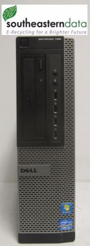 Dell Optiplex 790 Intel Core i3-2120 @ 3.30GHz 10GB RAM 250GB HDD Win 7 Pro