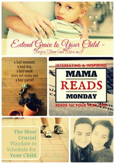 Interesting and Inspiring Articles for Moms + The Mama Reads Monday Link Party at B-Inspired Mama