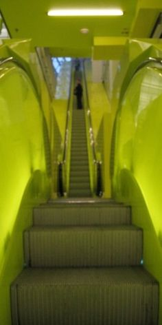 DOWNTOWN - Seattle Public Library (interior) - This architectural wonder is worth spending some time in. There are interesting spaces on every floor to explore.