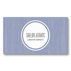Modern Wood Grain Blue Business Cards copyright 2013 all rights reserved www.sublimestationery.com