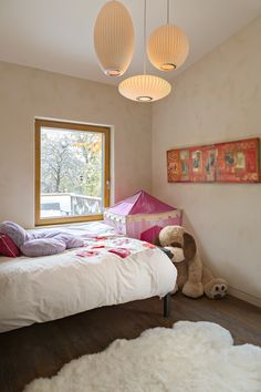 Childs room Energy Efficient Homes, European Windows, Bed, Furniture, Kids Room, House, Bedroom, Home Decor, Room