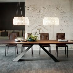 Eliot Wood Dining Tables & Cattelan Italia Standard Tables | YLiving