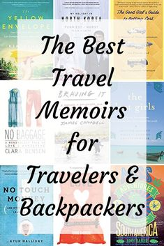 Check out this list of the best travel books and travel memoirs that are guaranteed to inspire wanderlust. These books will inspire you to plan a trip of your own. Any traveler or backpacker will relate to these travel adventure books. Best Travel Books, Literary Travel, Travel Tips, Travel Literature, Books About Travel, Travel Hacks, Travel Destinations, Travel Checklist, Travel Packing