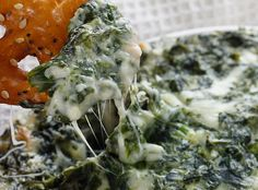 Hot Spinach Dip - only 3 Weight Watcher pts!