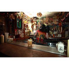 Keko Moku, rum bar in the Northern Quarter, Manchester.