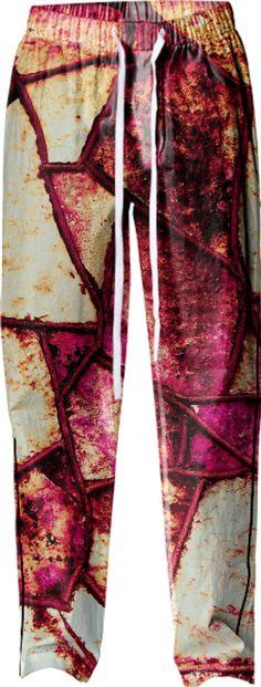 "Pajama Pant - ""Purple Wall"" by juliantgardea"