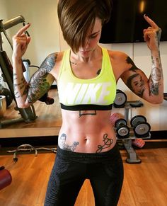Ruby Rose- Fitness Goals