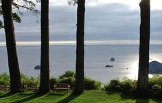 photo credit: CelesteSunn-Boyer  lost whale inn. Trinidad CA--we actually stayed in the room with this view--the Sea Lion Room.  Very private& secluded place.