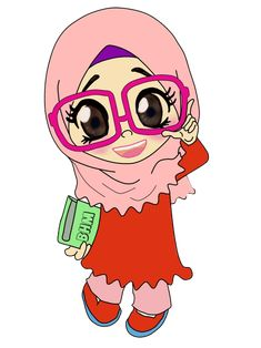 image dp bbm hijab syar i Ponsel Harian Teacher Cartoon, Cartoon Kids, Girl Cartoon, Cute Cartoon, Muslim Pictures, Doodle Girl, Friend Cartoon, Islamic Cartoon, Kids Background